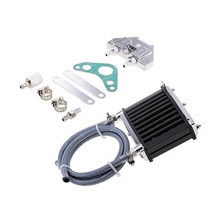 Bobury Motor Universal del refrigerador de Aceite de Refrigeración del radiador de 125cc 150cc 140 Rastro