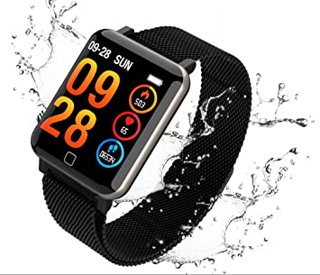 Aursen Pulsera Actividad Deportiva Hombre IP67 Impermeable Fitness Tracker Podómetros Reloj Inteligente: Amazon.es: Deportes y aire libre