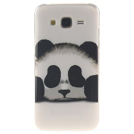 Ooboom® Samsung Galaxy J5 Funda TPU Silicona Gel Case Cover Carcasa Cubierta Ultra Delgado para Samsung Galaxy J5(2015 Version) - Panda