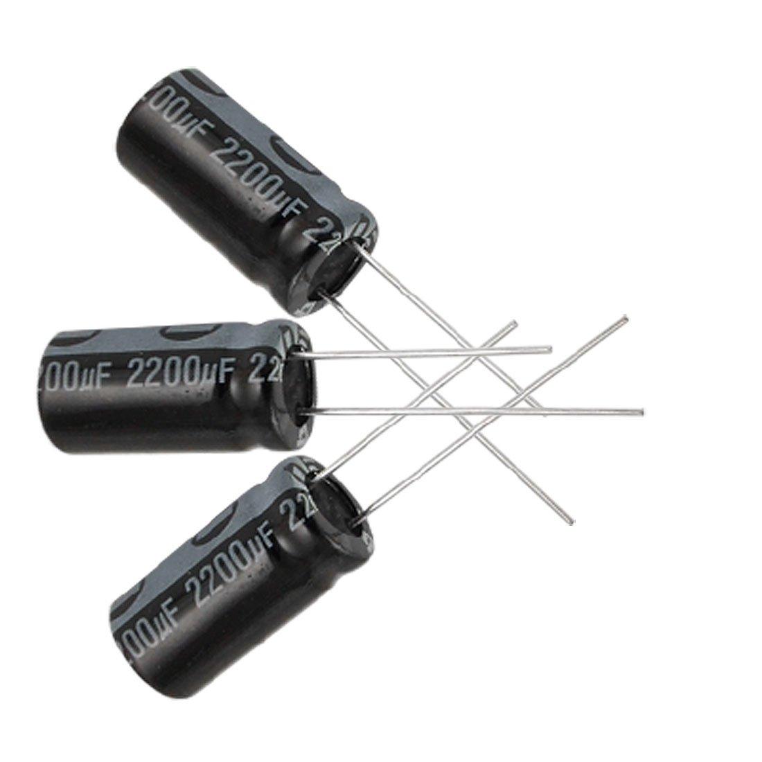 10 x 1000uF 16V 20/% 8mm x 16mm Electrolytic Capacitors