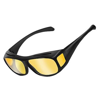 Unisex Protezione UV Lenti HD Visione Notturna Occhiali Da Sole Occhiali Occhiali di guida