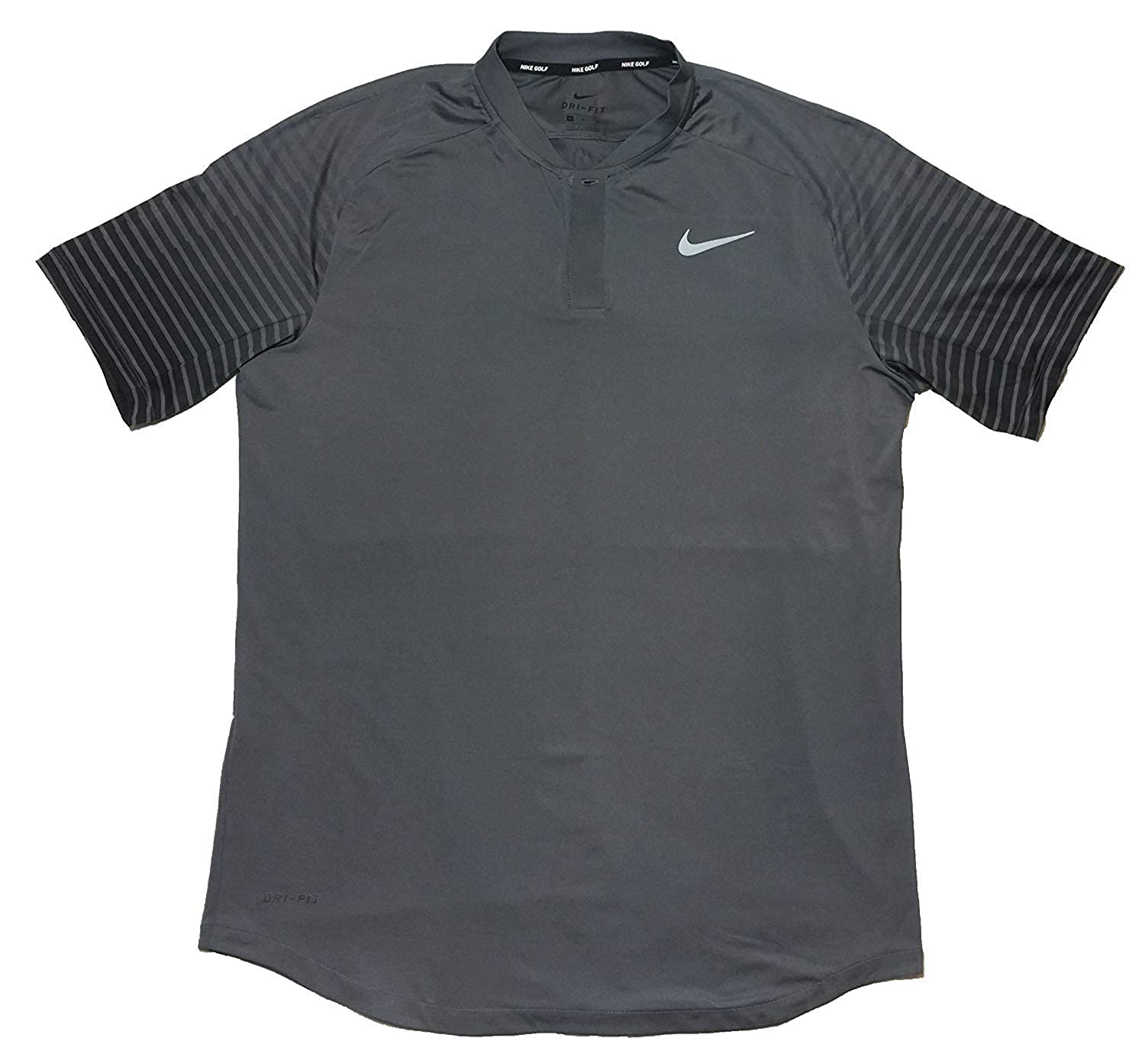 21d0df42 Amazon.com: Nike Men's Gold Dri-Fit TW Tiger Woods Cooling Graphic Polo  (Medium): Clothing
