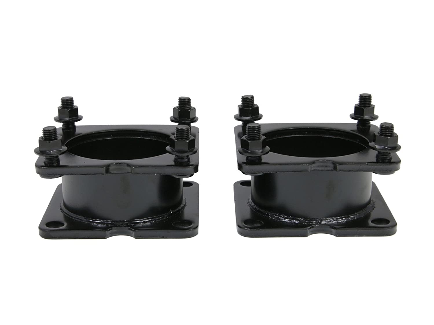 Front Steel Leveling Kit | 2' inch Lift | for 2001-2012 Ford Escape, 2000-2012 Mazda Tribute, 2004-2012 Mercury Mariner | Black Steel Spacer Precision European Motorwerks