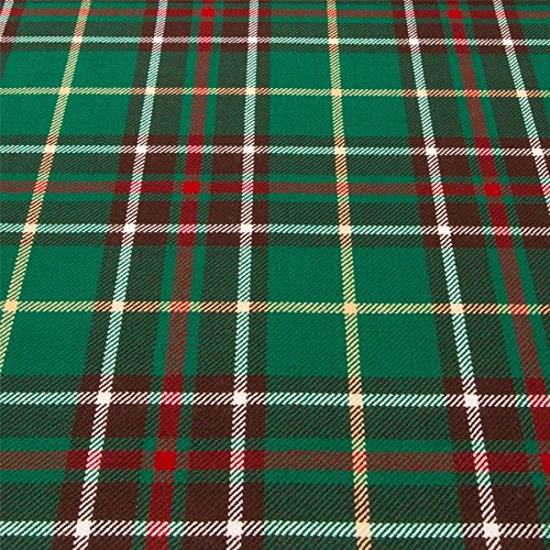 Tartan Newfoundland (Light Weight 10oz Fabric Material Newfoundland Canadian Tartan 1 Metre)