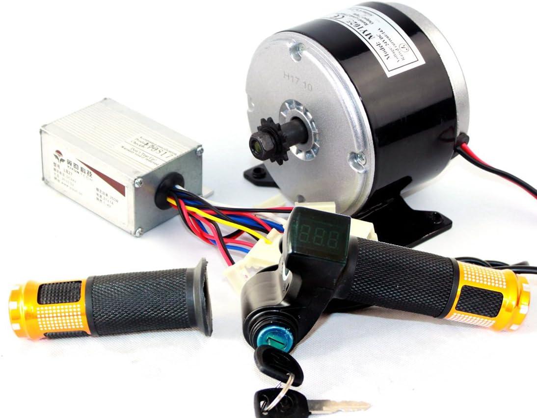 24V 250W eléctrica cepilló el motor de DC eléctrico DIY 250W Motor ...