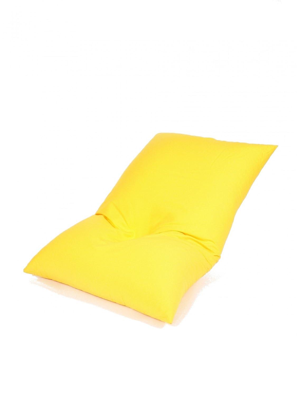Relaxkissen Baumwolle gelb 140/180 cm