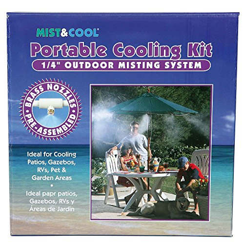 Mist & Cool 1/4'' Portable Outdoor Cooling Kit by MIST & COOL