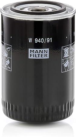 Original Mann Filter Ölfilter W 940 91 Für Pkw Und Nutzfahrzeuge Auto