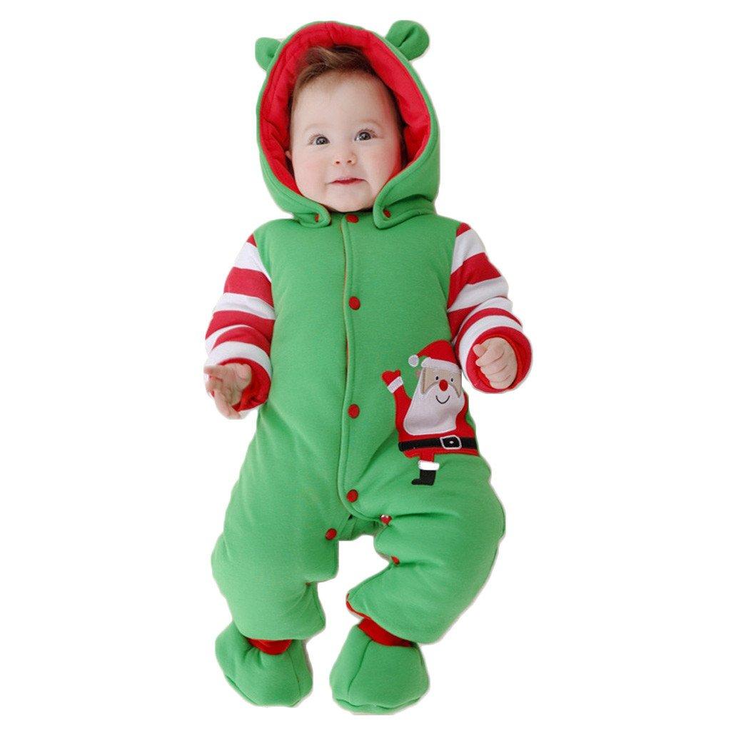 Bambino Ragazze Ragazzi pagliaccetto Neonato addensare Snowsuit Autunno inverno infantile tute attrezzatura Vine Trading Co. Ltd B160805PF002745V