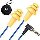 Work Earbuds, Mipeace Safety Hearing Protection Industrial Ear plugs Headphones-OSHA Approved Noise Reduction Earphones for W