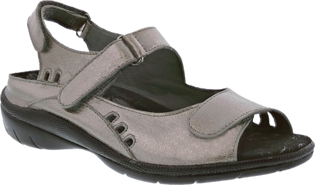 Drew Tide Women's Sandal B01LY6CP4F 7 E US|Pewter Leather