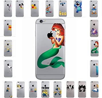 bc7abcd821 Latest New Disney Cartoon characters Clear Back Hard: Amazon.co.uk:  Electronics