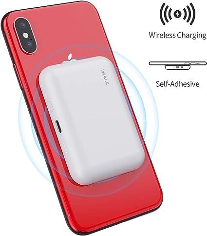 Amazon.com: Qi Wireless Portable Charger Power Bank 3000mAh ...