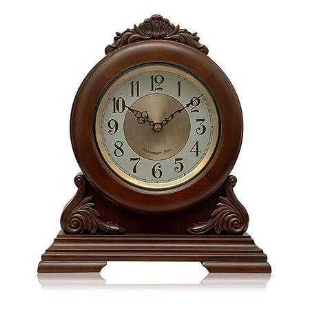 Reloj de mesa vintage Mantel Clock Silencioso reloj de mantel de ...