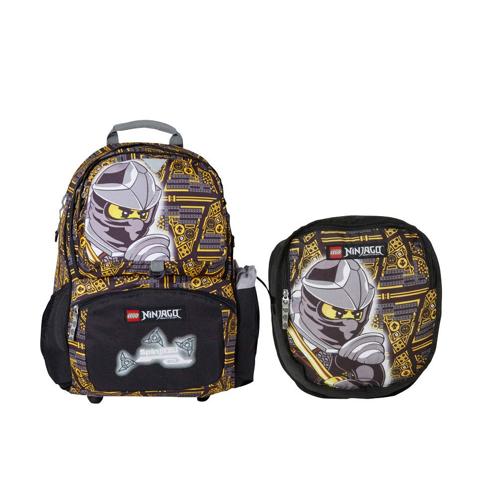 Amazon.com | Lego School Double Backpack Ninjago Cole Core Line | Kids Backpacks