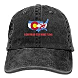 FBGVFD USA Wrestling Logo Baseball Caps Classic Plain/Flat Snapbacks for Teen Boys