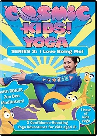 Amazon Com Cosmic Kids Yoga Series 3 Dvd I Love Being Me Jaime Amor Martin Amor Movies Tv