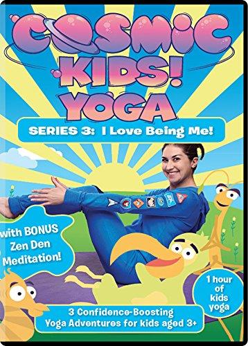 Cosmic Kids Yoga - Series 3 DVD. I Love Being Me!