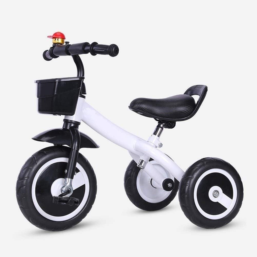 WLD Bicicleta de entrenamiento Triciclo Triciclos para niños Triciclo Bicicleta de equilibrio Cochecito de bebé portátil Juguetes para niños y niñas Juguetes de pasajeros salientes Regalo de cumpleañ