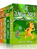 JUNGLE STORIES COLLECTION (4 Books in 1): Short Stories, Games, Activities, Jokes, and More! (Fun Time Reader)