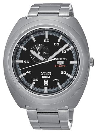 Seiko Reloj Analógico Automático para Hombre con Correa de Acero Inoxidable - SSA281K1: Amazon.es: Relojes