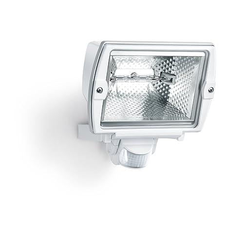Steinel 577919 Sensor-Foco Halógeno HS 5140, blanco, con Detector de movimiento,