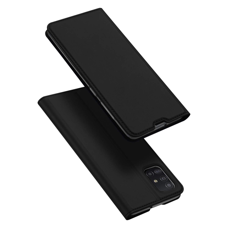 Funda Flip Cover Para Samsung A51, Negra