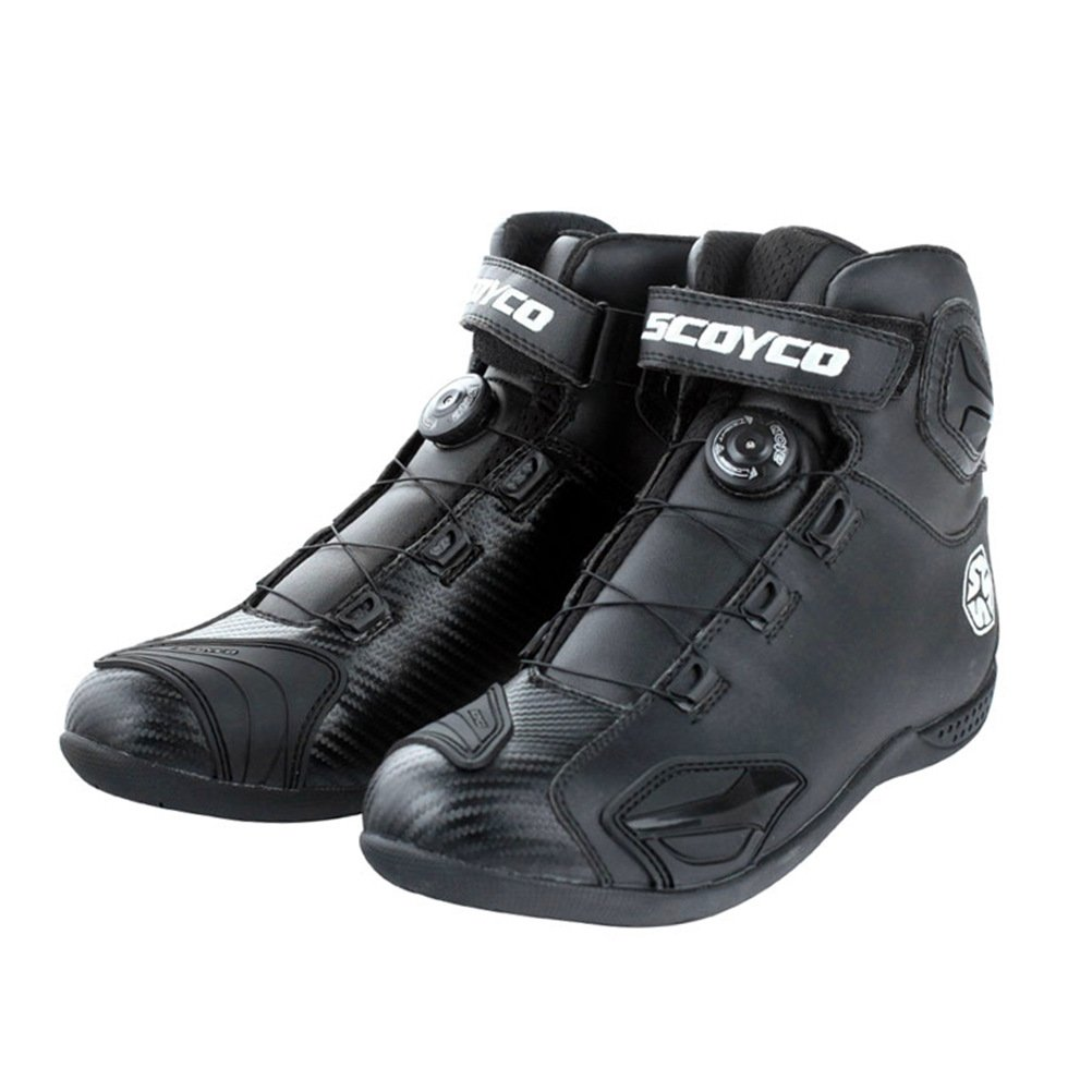 Scoyco MBT010 Motorcycle Motocross Racing Shoes Men Sports Off-road Footwear (EU 42)