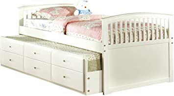 Amazon Com Furniture Of America Giordani Mission Style Twin