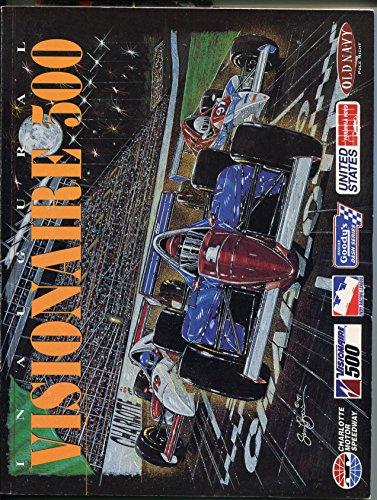 Charlotte Motor Speedway-Visionaire 500-Indy Car Race Program-IRL-1997-VG/FN ()
