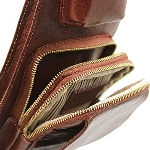 Tuscany Leather TL141352, Poschette giorno donna Marrone marrone compact