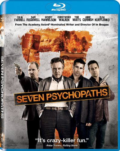 Blu-ray : Seven Psychopaths (Ultraviolet Digital Copy, Widescreen, Dolby, AC-3, )