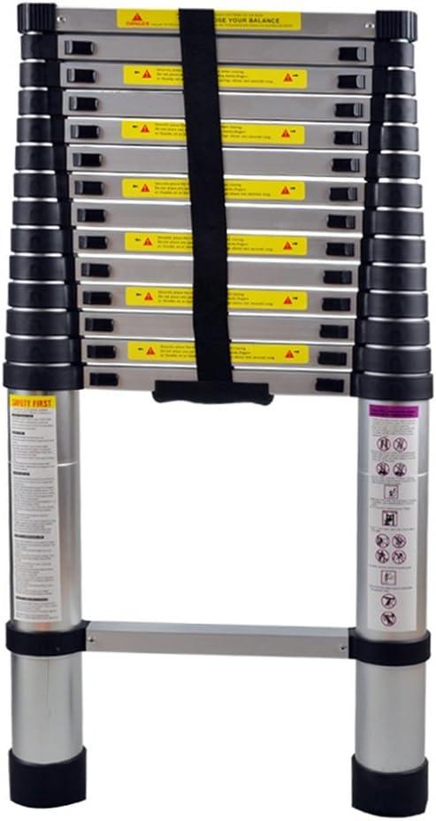 HENGMEI 4.4m Escalera telescópica de Aluminio Escalera Extensible Plegable Multipropósito Portátil: Amazon.es: Bricolaje y herramientas