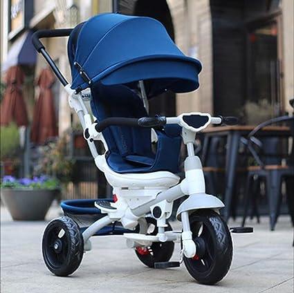Carrito de bebé Bicicleta Triciclo para niños/Trolley Bicicleta para bebés/Asiento se Puede