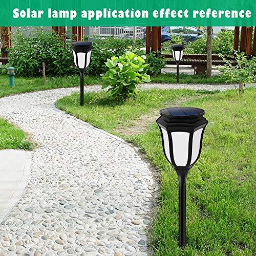 Chuangrong Solar Light Solar Landscape Light Solar Flame Light Outdoor Waterproof LED Light Decorative Garden Light by Chuangrong (Image #6)