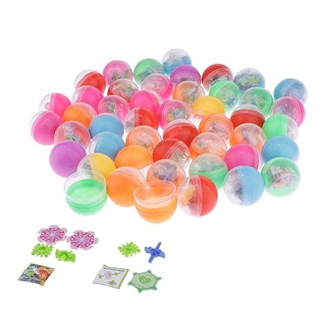 Hellery 50 Pcs Huevos con Poca Juguete para niños Fiesta ...