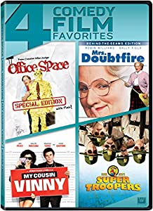 upc 024543988090 product image for Office Space / Mrs Doubtfire / My Cousin Vinny / Super Troopers Quad Feature | barcodespider.com