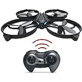 "Haktoys HAK902-IV Mini 7.5"" Drone 2.4GHz 4 CH 3D Flip LED RC Quadcopter with 6 Axis Gyroscope"