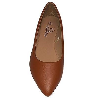 HapHop Premium Ballerina Pointed Toe Women's Classic Casual Ballet Fancy Flat Shoes | Flats