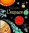 L'espace - P'tits curieux Usborne