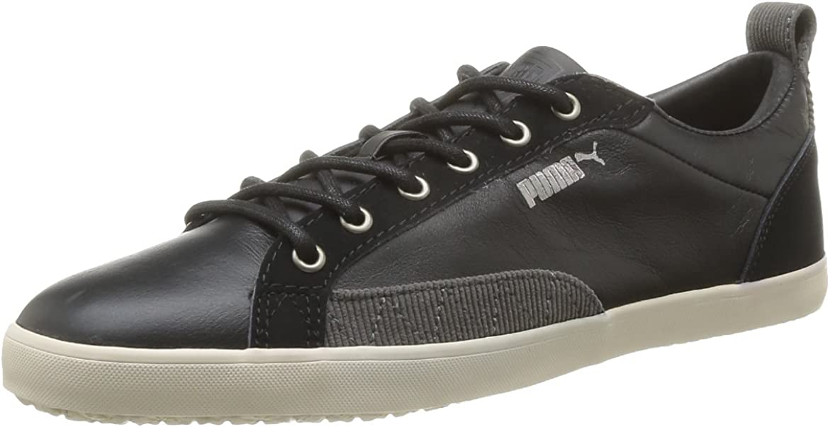 PUMA Slim Court Corduroy, Baskets Mode Homme Noir (01), 47