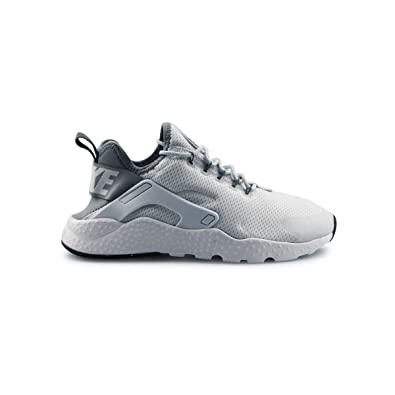 finest selection f973e 6a580 Image Unavailable. Image not available for. Color  Nike Air Huarache Ultra  Pure Platinum Cool Grey-Black ...