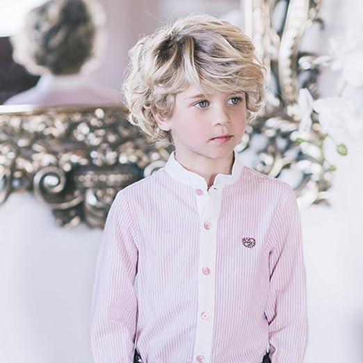DOLCE PETIT - Camisa NIÑO niños Color: Fresa Talla: 2: Amazon.es: Ropa y accesorios