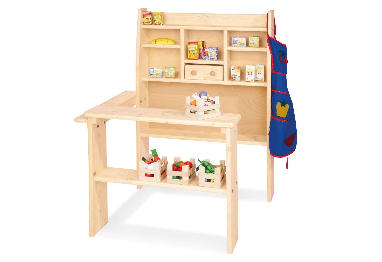 Kinderkaufladen aus Holz - Kaufladen Pluto