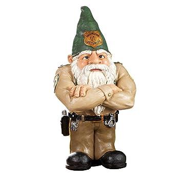 Amazon.com : Whimsical Gnomeland Security Garden Statue : Patio ...