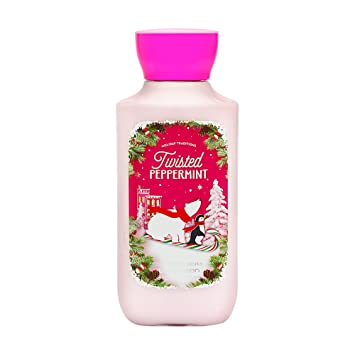 Bath body peppermint twisted works
