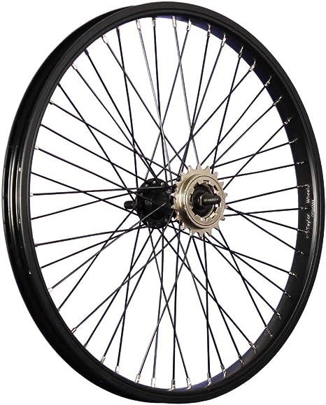 Taylor-Wheels - Rueda trasera para bicicleta BMX (20 pulgadas, 48 ...