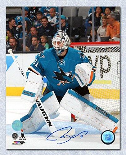 Autographed Martin Jones Photo - San Jose Sharks Goalie 8x10 - Autographed NHL Photos Sports Memorabilia