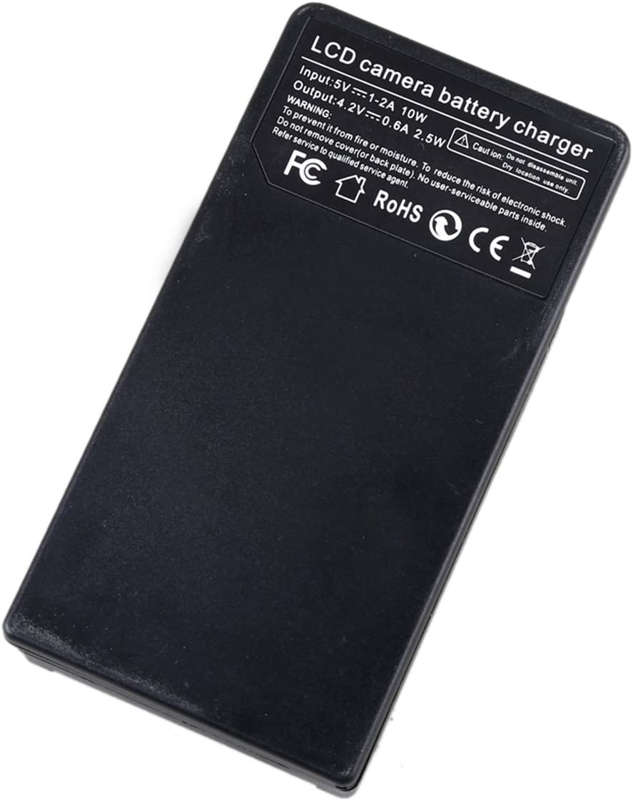 HFR400 HFR600 HFR500 LCD Micro USB Battery Charger for Canon VIXIA HFR300 HFR700 HD Camcorder HFM500