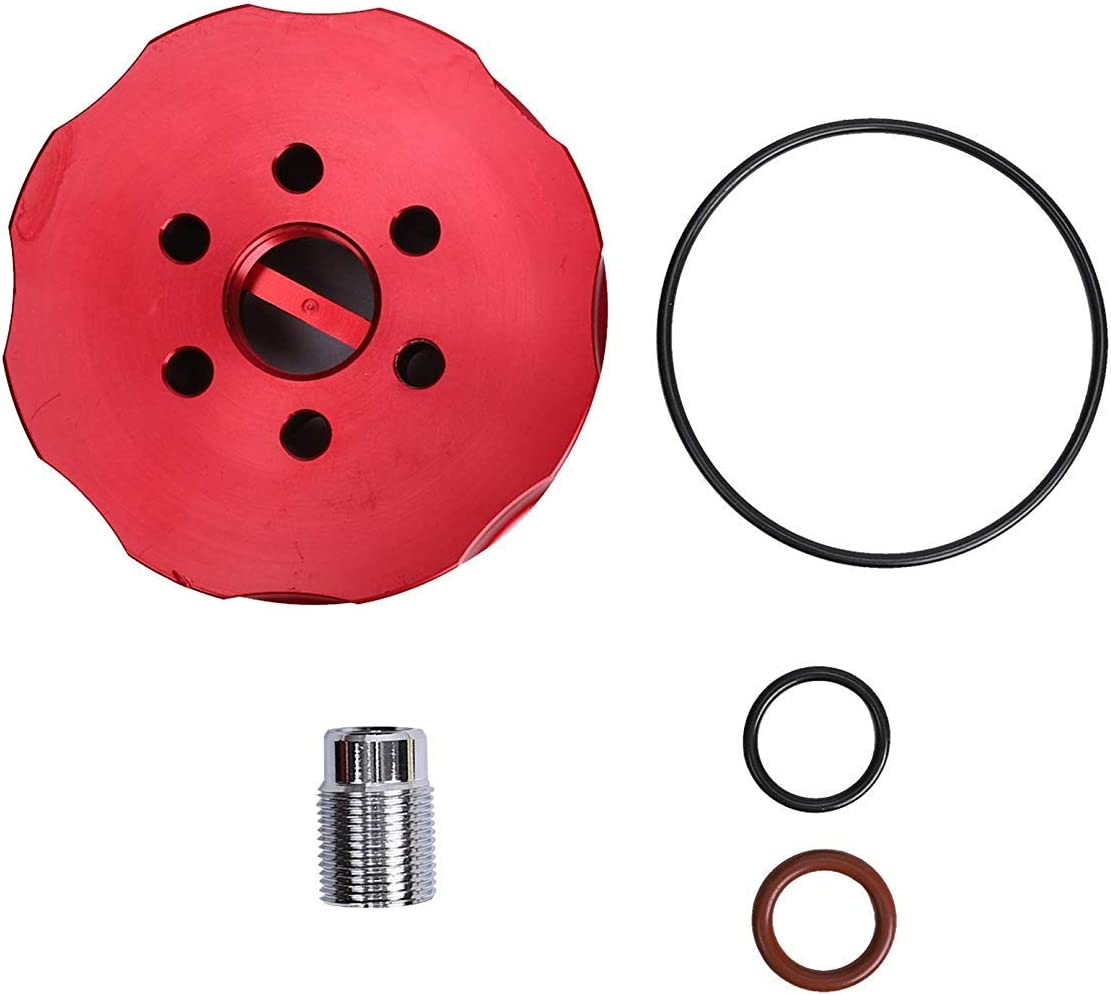 For 2001-2016 Chevy GM Duramax Chevrolet 6.6L Fuel Filter Adapter Kit Blue New